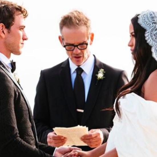 Cassie and Alex Fine Marry In Surprise Wedding In Malibu
