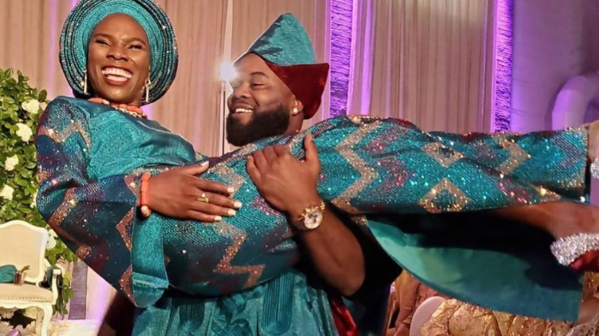 Photos From Author Luvvie Ajayi's Nigerian Wedding Ceremony