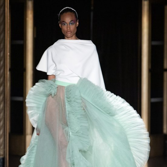 NYFW: Christian Siriano Spring/Summer 2020 Was A Technicolor Wonderland