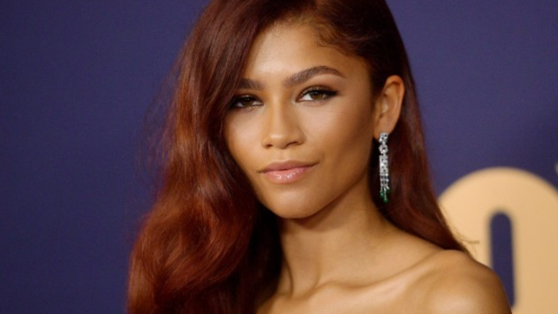 Zendaya Won The Emmys With Her Red Body Wave