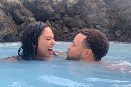 Stephen and Ayesha Curry's Iceland Vacation