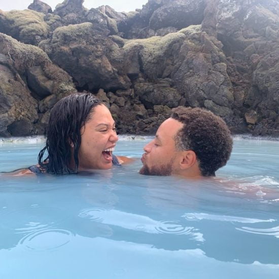 Stephen and Ayesha Curry Had A Blast On Their Frosty Baecation In Iceland