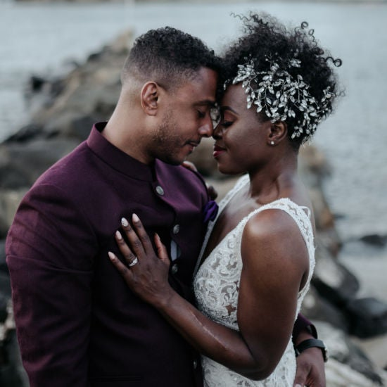 Bridal Bliss: Candice and Hassan Looked Like Royalty At Their St. Lucia Wedding