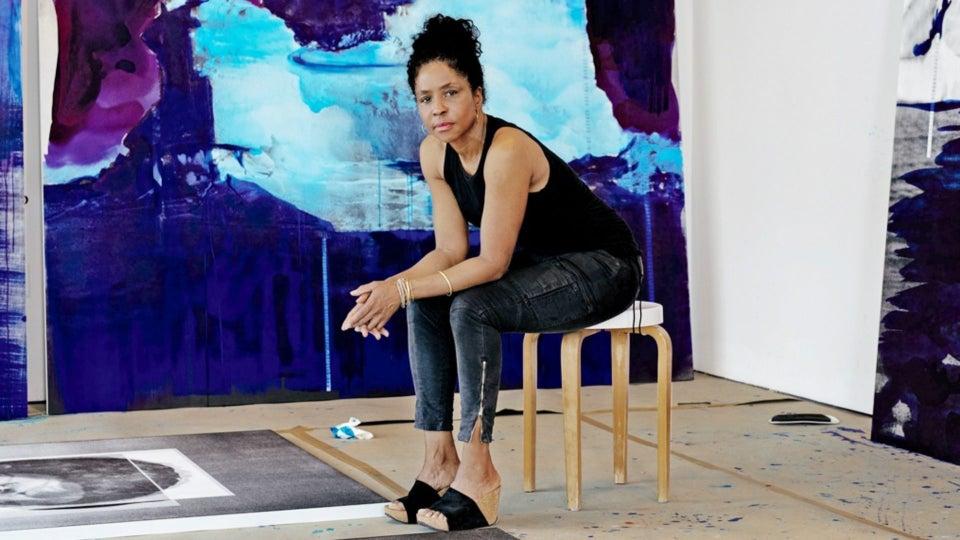 Lorna Simpson Talks Her New Exhibition 'Darkening'