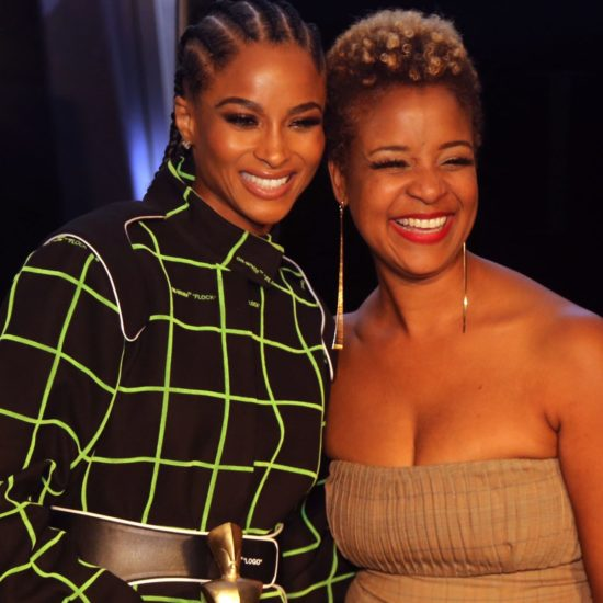 Ciara Receives The Icon 360 Award At Harlem's Fashion Row 12th Annual Fashion Show And Style Awards