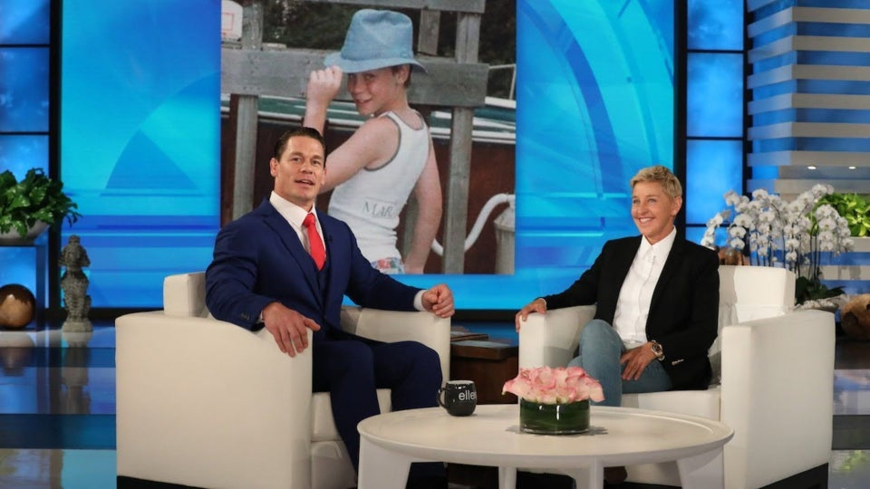 John Cena Dances It Up To Sho Madjozi's Track Named After Him On The Ellen DeGeneres Show