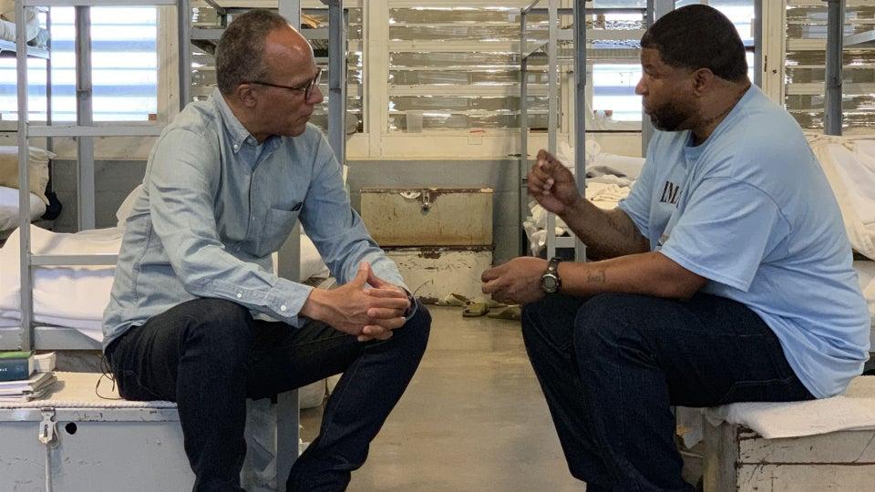 NBC's Lester Holt Brings Prison Life To Prime Time