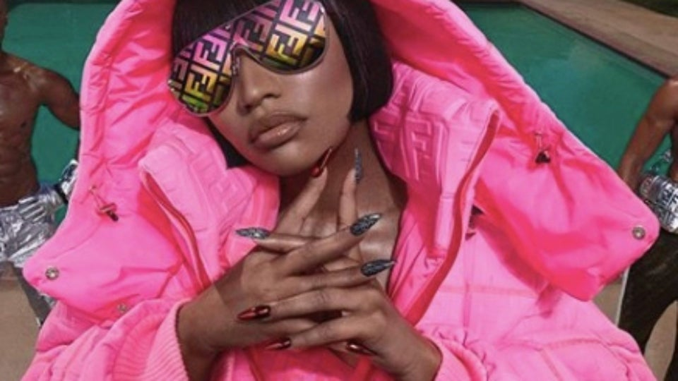 Nicki Minaj Gives Sneak Peek Of Her Fendi Capsule Collection