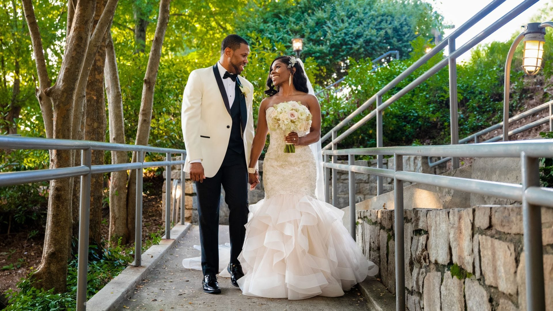 Bridal Bliss: Erica and Greg Brought A Taste Of Chicago To Their Atlanta Wedding