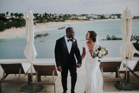 Bridal Bliss: Herlene and Khari's Tropical Chic Wedding in Anguilla