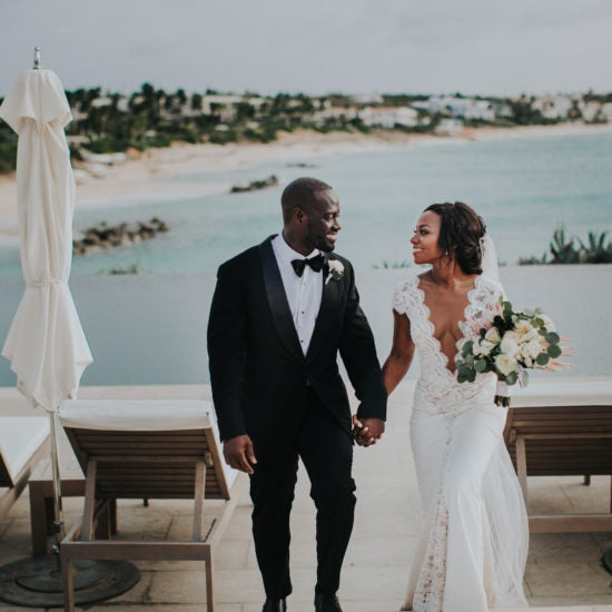 Bridal Bliss: Herlene and Khari's Tropical Affair in Anguilla Was Breathtaking