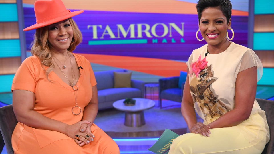 Erica Campbell Talks Forgiving Her Husband's Infidelity On 'The Tamron Hall Show'