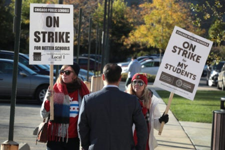 Chicago Teachers Strike: More Than 32,000 Teachers, Staff Walk Out