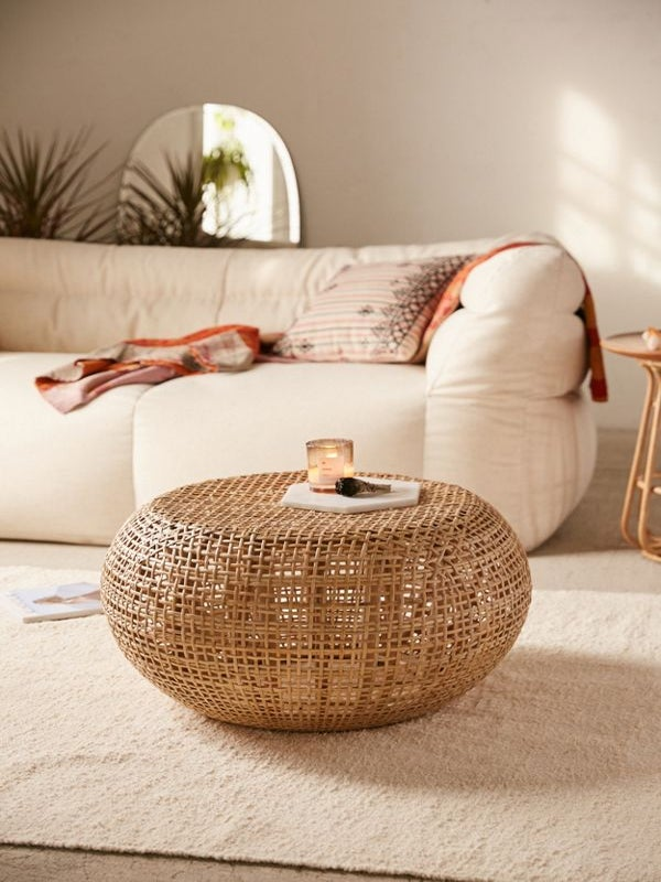 What I Screenshot This Week: The Chic Ottoman That'll Complete My Living Room