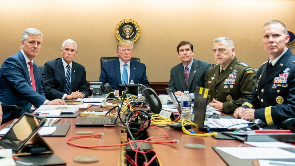 Trump Seemingly Tries To One-Up An Obama Situation Room Photo, Twitter Goes In