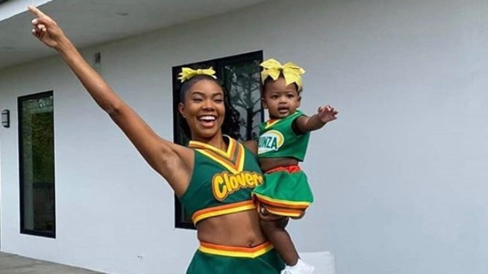 Gabrielle Union And Kaavia James Pay Tribute To The Clovers