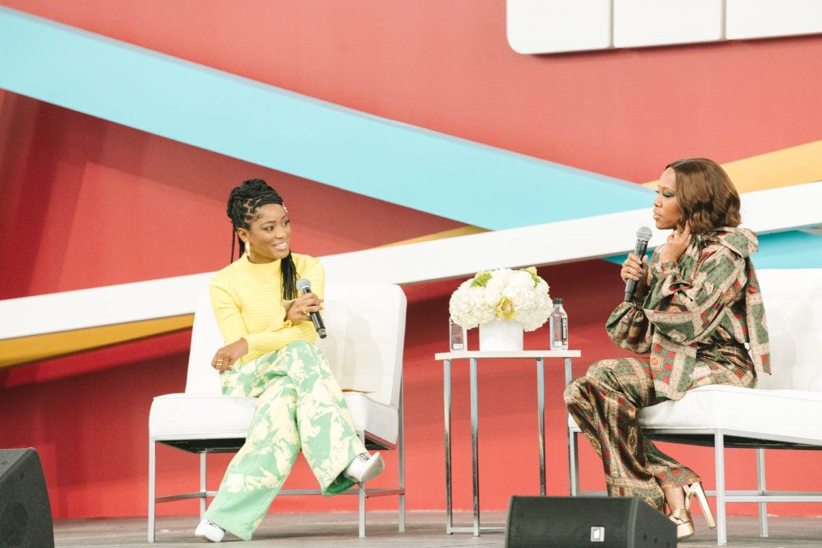 Keke Palmer interviews Regina King at CultureCon
