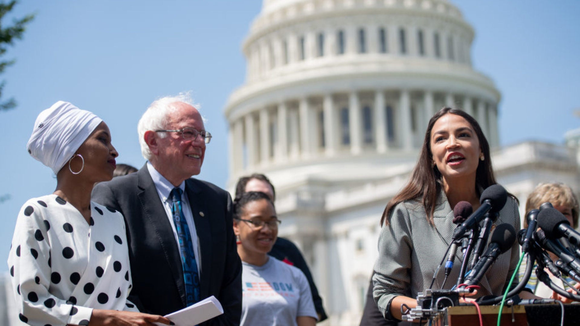 Bernie Sanders Picks Up Three Major Endorsements From 'The Squad'