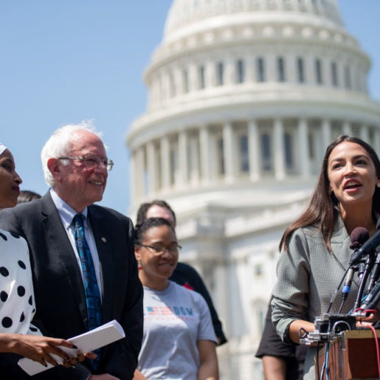 Bernie Sanders Picks Up Three Major Endorsements From 'The Squad'