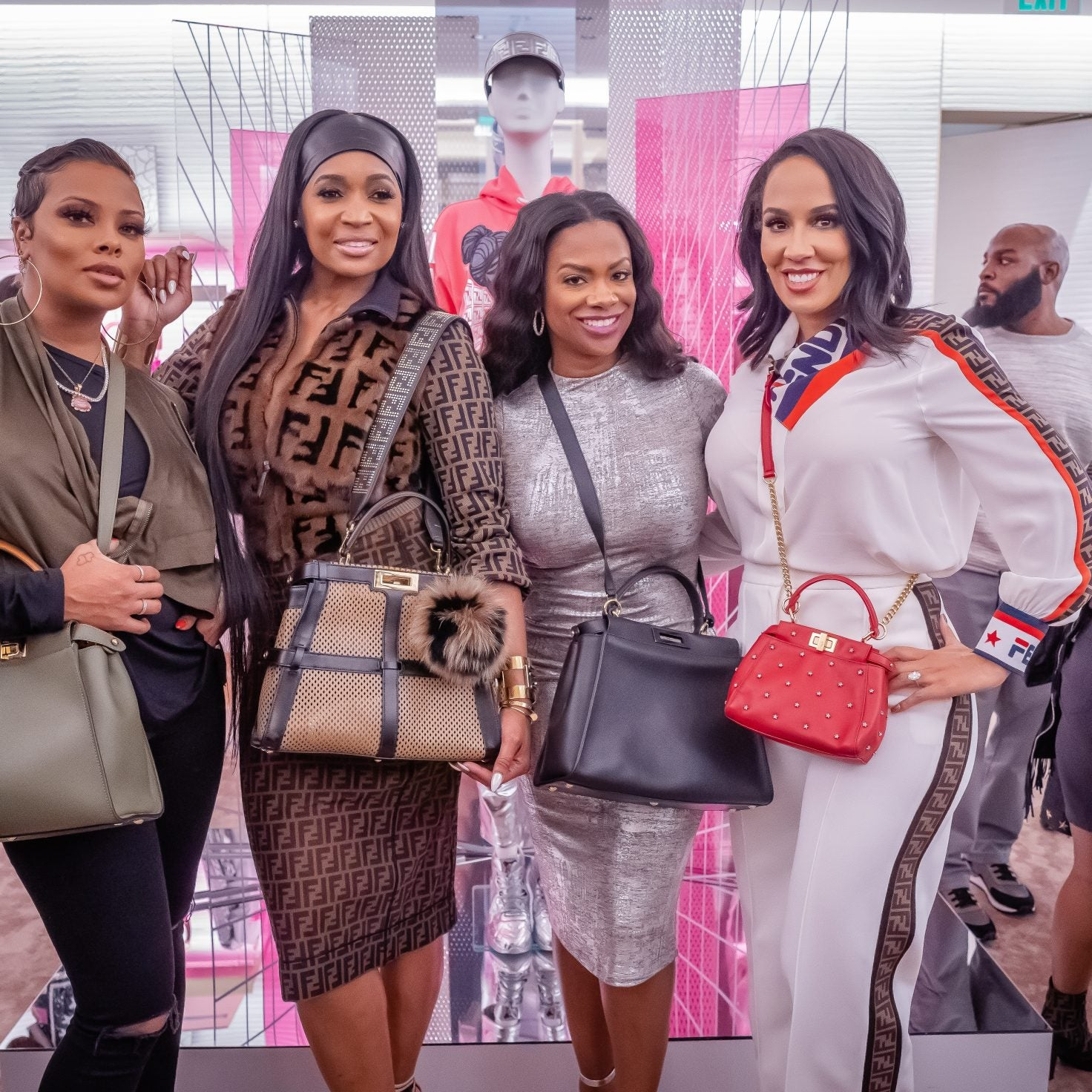 Atlanta's Finest Gather at FENDI to Shop Nicki Minaj's New Collection