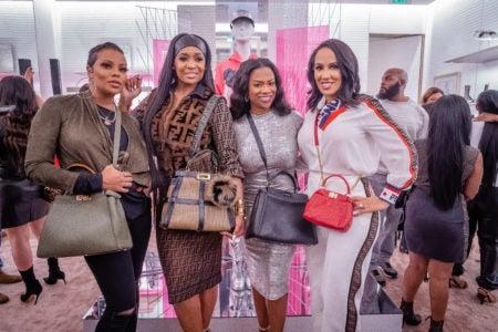 Atlanta's Finest Gather at FENDI to Shop Nicki Minaj's New Collection