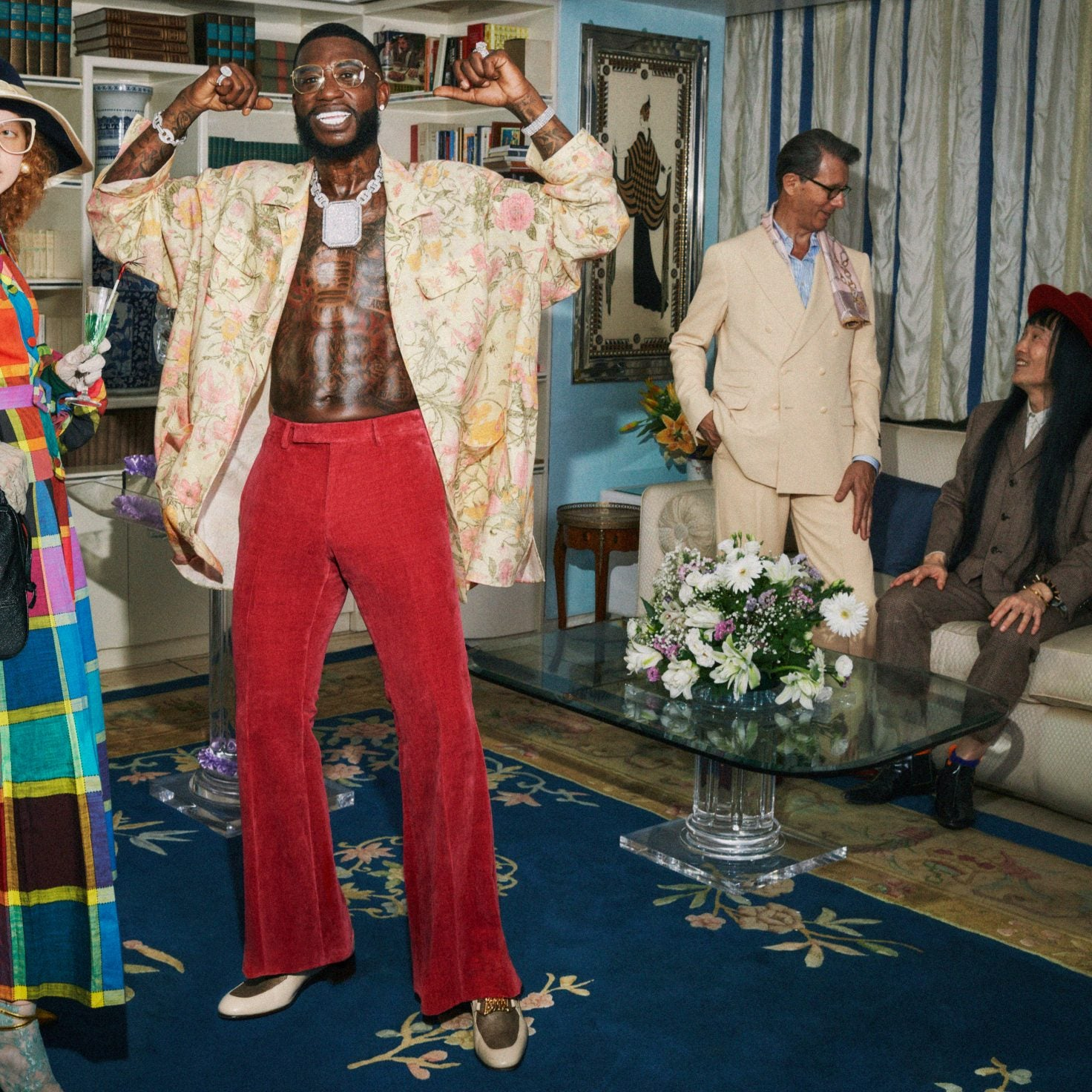 Gucci Mane Is the New Face of Gucci's S/S 2020 Campaign