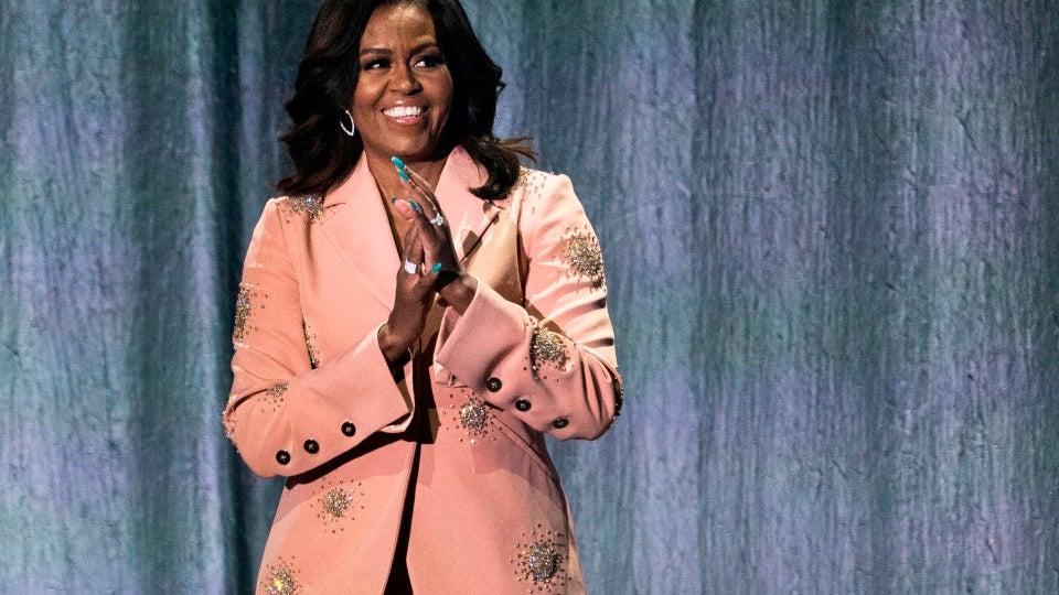 Michelle Obama Posts Self-Care Sunday Fitness Inspiration