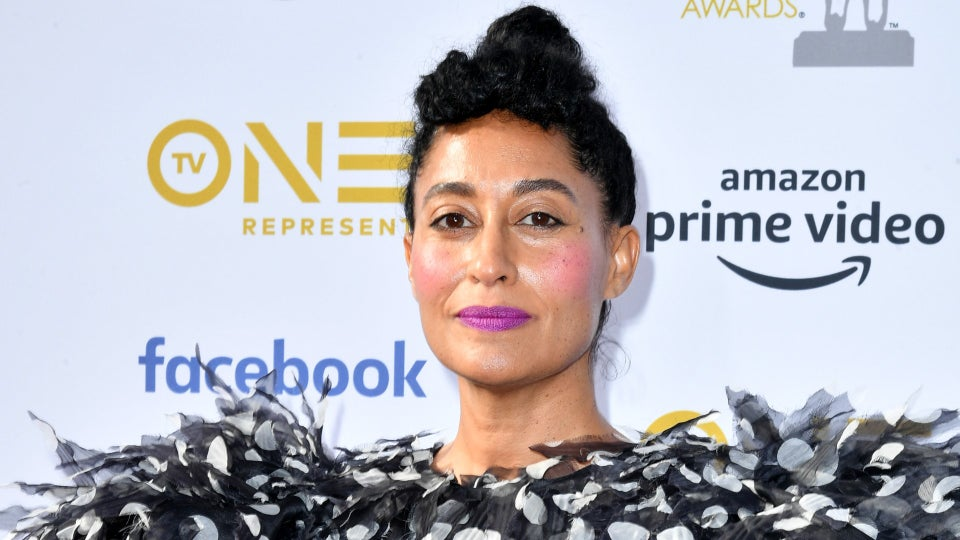 Tracee Ellis Ross Just Showed Us The Quickest Way To Get A Mustache