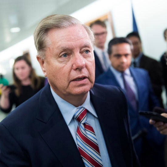 Lindsey Graham Says He'll Out Whistleblowers If Trump Is Impeached