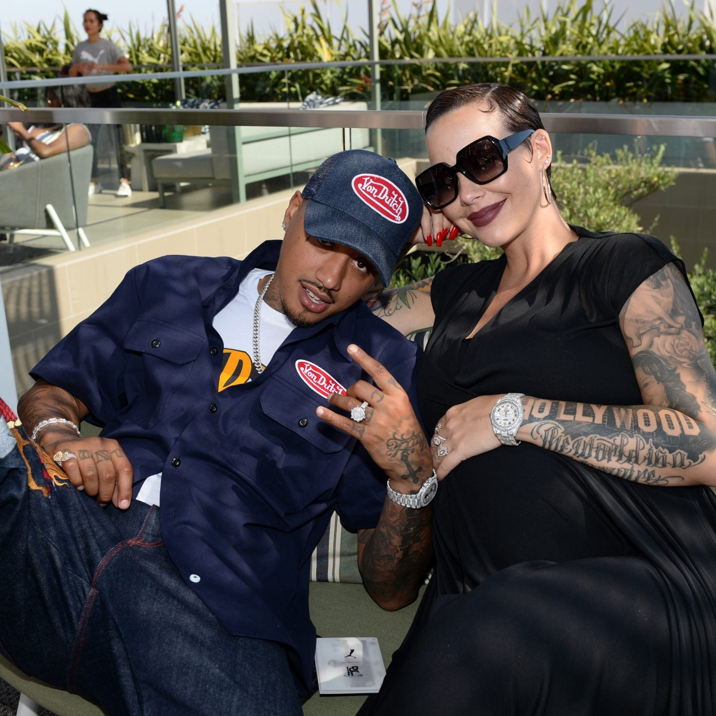 Congrats! Amber Rose Welcomes Second Son And Gives Him A 'Rockin' Name