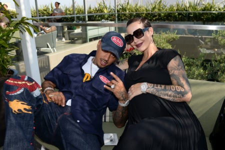 Amber Rose Gives Birth To Her Second Child, Gives Him A Rock Star Baby Name