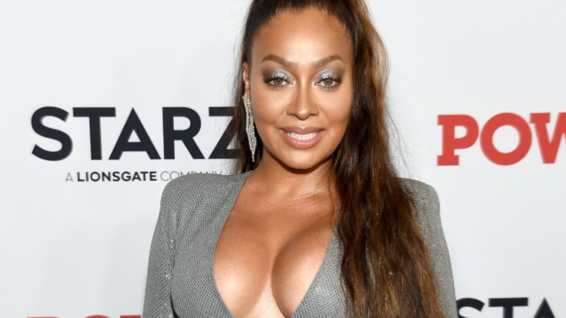 La La Anthony Came Through Dripping In A Glam Fishtail Braid