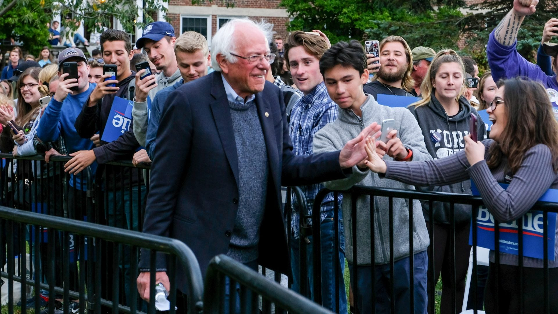 Bernie Sanders Says He 'Misspoke' About Slowing Pace Of His Campaign