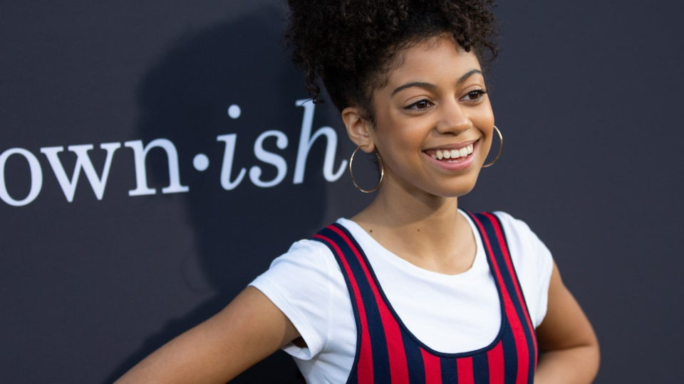 'Mixed-ish' Breakout Arica Himmel Is Learning From TV's Biggest Names