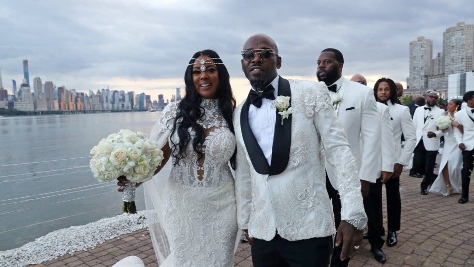 Bridal Bliss: Treach Of Naughty By Nature Married His Longtime Love Cicely Evans