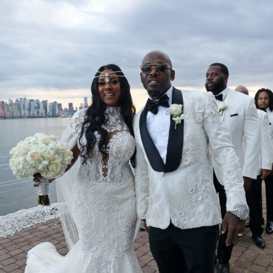 Bridal Bliss: Inside Treach Of Naughty By Nature And Cicely Evans's Stunning All-White Wedding