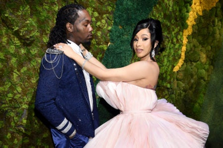 Cardi B Gets A Massive Wedding Ring Upgrade From Husband Offset