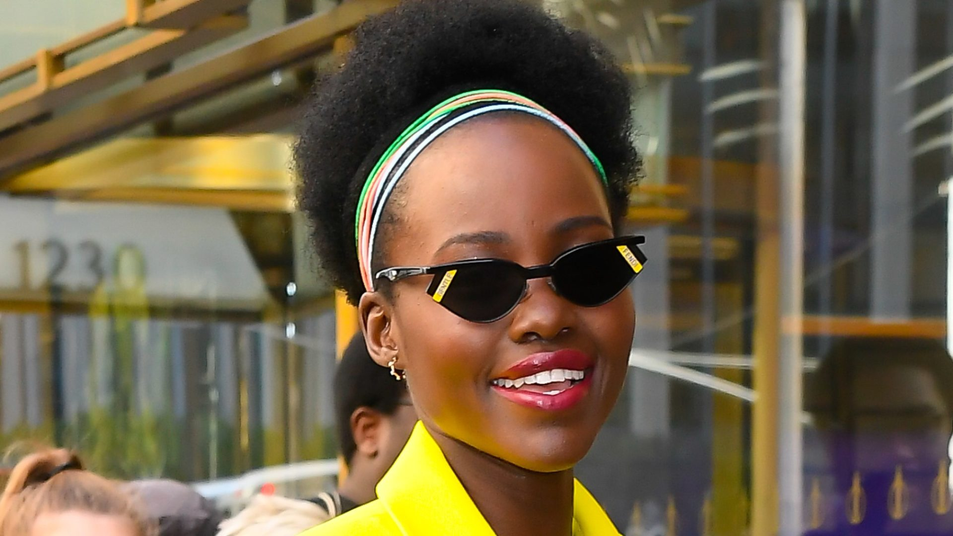 Lupita Nygon'o Looks Skin-Sational On 'Sulwe' Press Tour