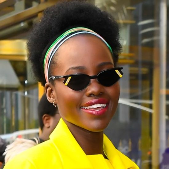 Lupita Nyong'o Looks Skin-Sational On 'Sulwe' Press Tour