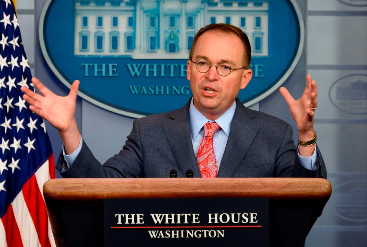 Mick Mulvaney admits to a quid pro quo days before William B. Taylor testifies that Trump withheld money to Ukraine for political gain.