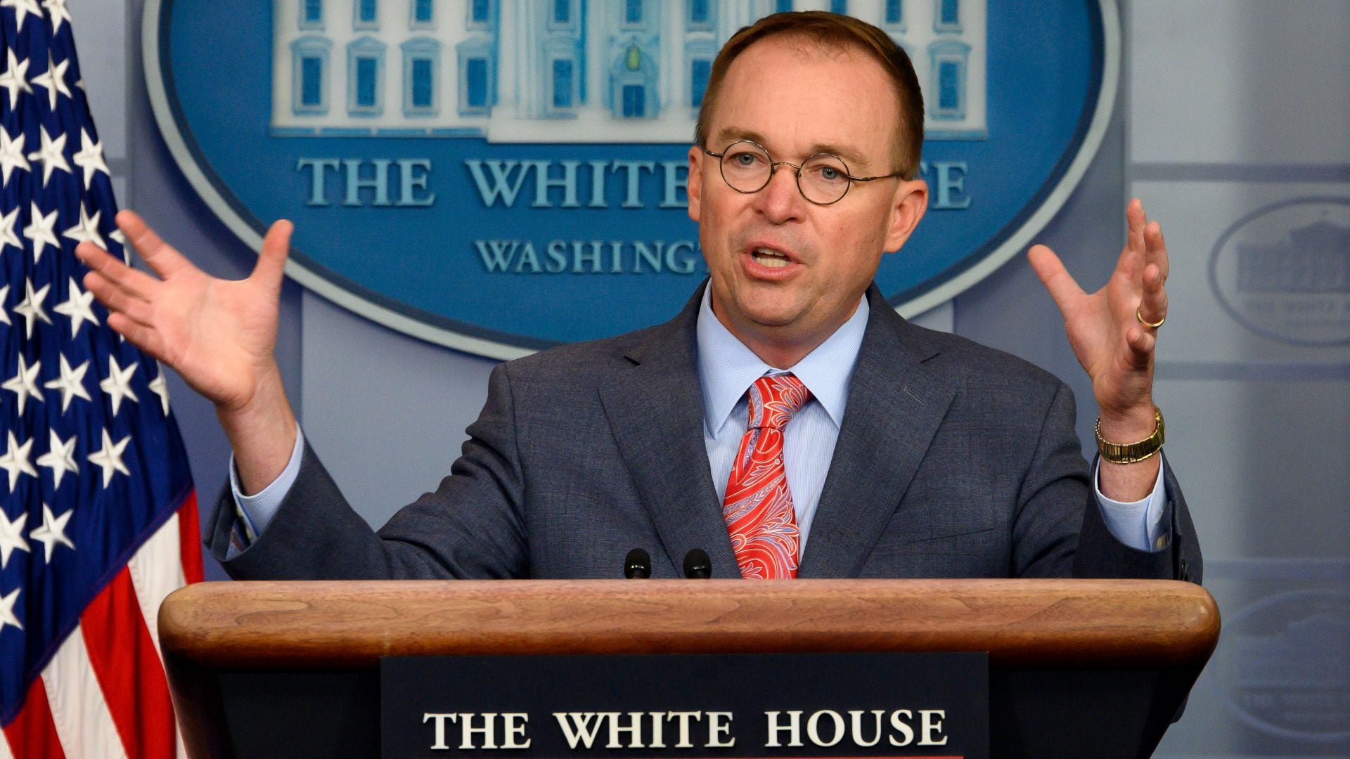 GOP Railing After Mick Mulvaney Admits To Quid Pro Quo Then Pretends He Never Said It