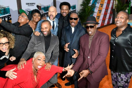 Comedians Attend 'Dolemite Is My Name' Los Angeles Premiere