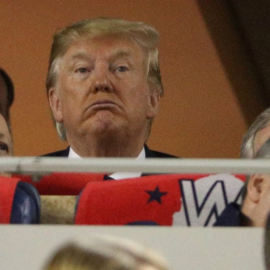 Trump Greeted With Boos At World Series Game