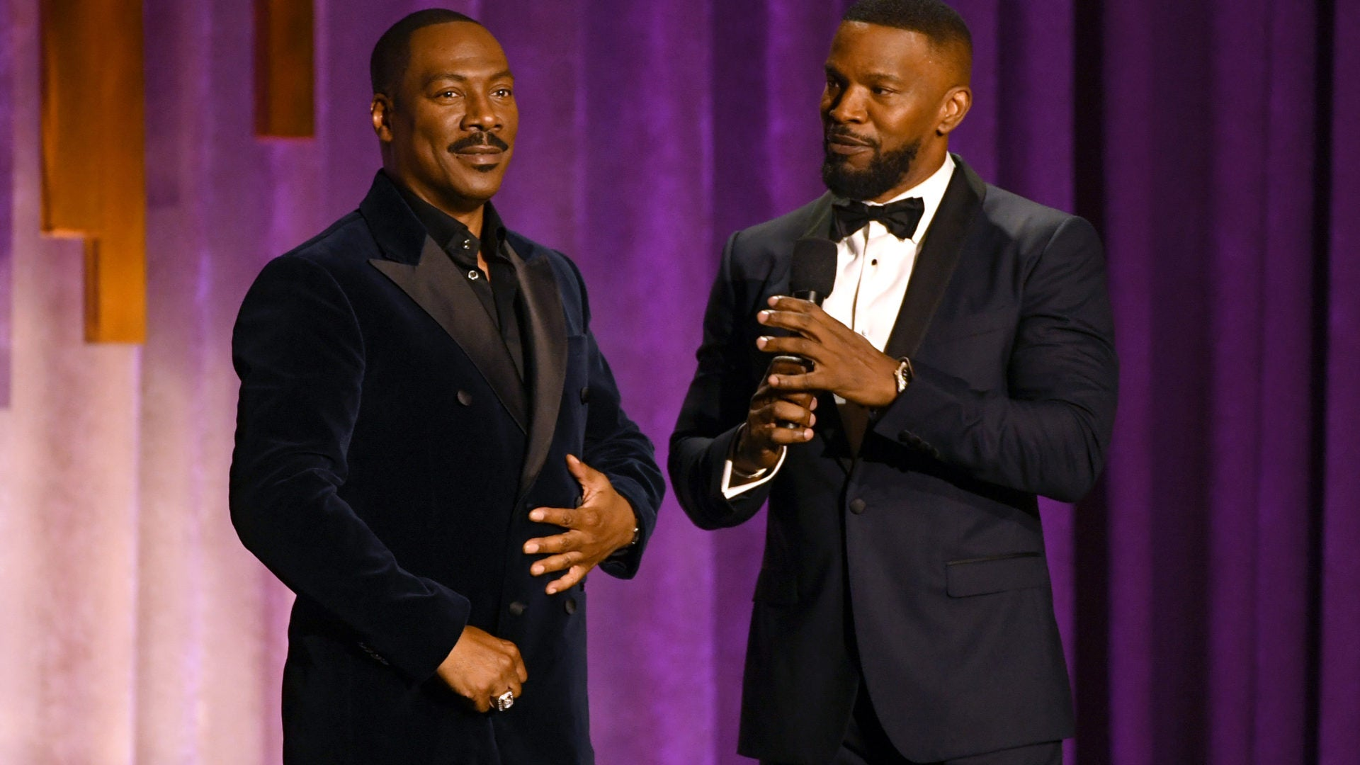 Black Hollywood Attends The Academy's Honorary Governors Awards