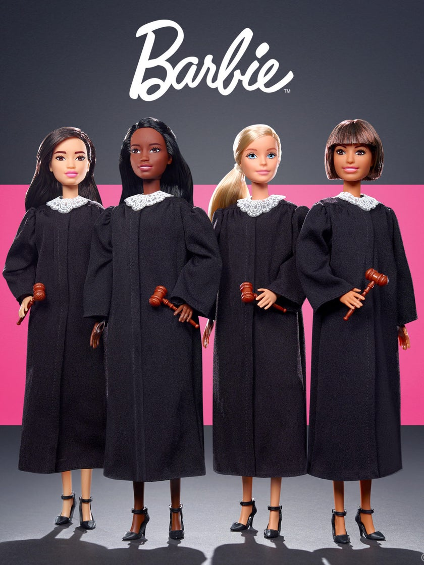 Barbie Takes On New Career As Judge