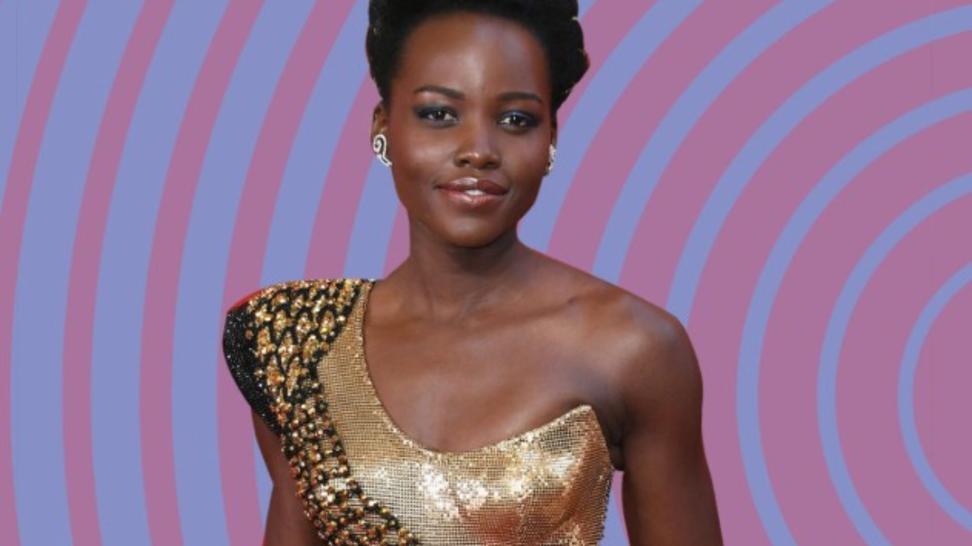 Lupita Nyong'o Wears Natural Bangs To The Governors Awards