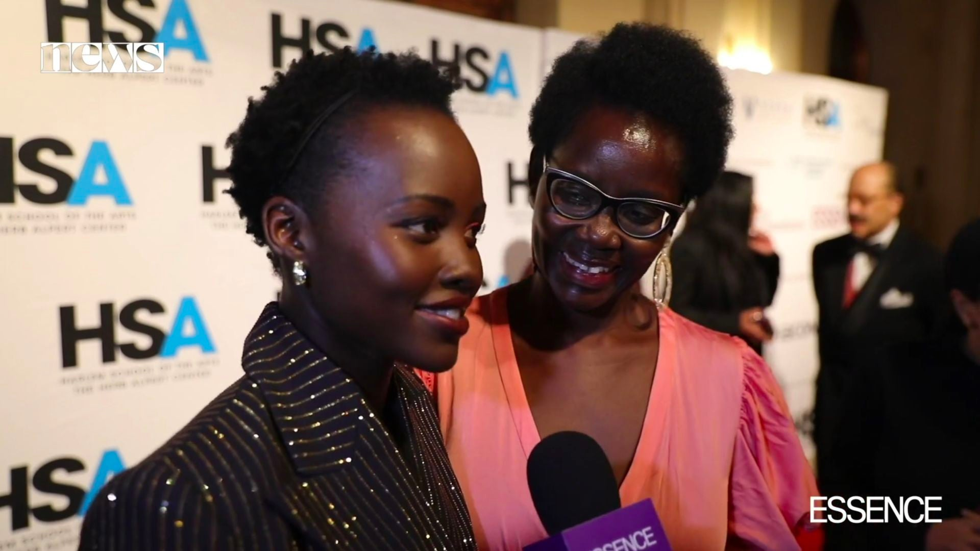 VIDEO: This Beautiful Moment With Lupita Nyong'o And Her Mom On The Red Carpet Will Make Your Day