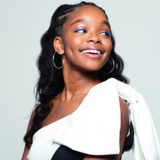 Marsai Martin Muses On How She Learned To Love The Skin She's In