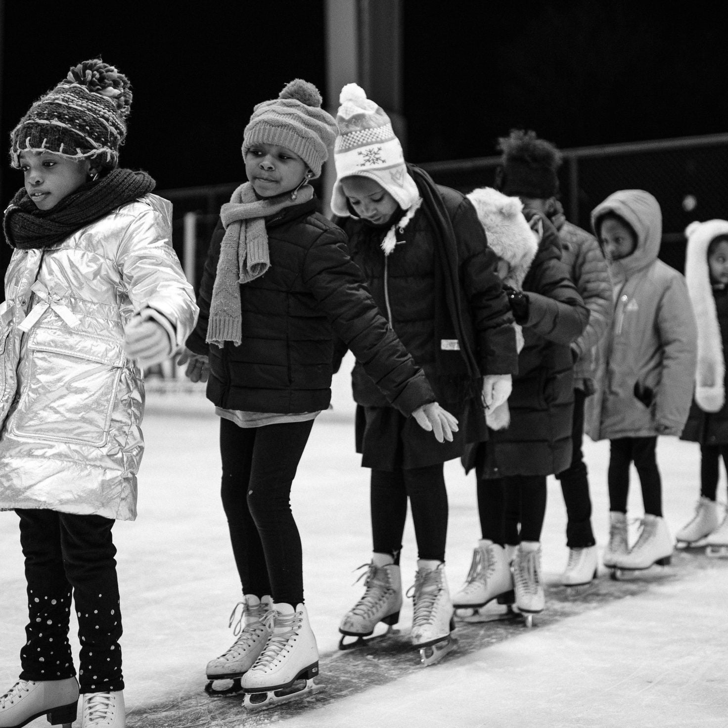 Meet The Artist Capturing The Beauty Of Young Black Ice Skaters