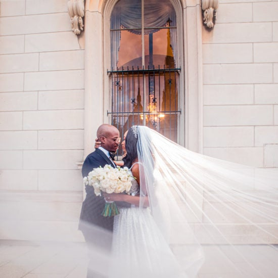 Bridal Bliss: Joi-Marie And Anton Had A Storybook Wedding Inside This Historic Library